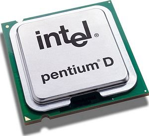 Intel Pentium D 820 D820 CPU 2.8 GHz 800 MHz 2 MB SL88T Sockel 775 Tray CPU