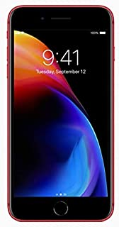Apple iPhone 8 Plus without FaceTime - 64GB, 4G LTE, Red (8Plus)