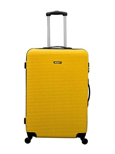 Ertha Handgepäck-Trolley, ultraleicht, um 360° drehbare Räder, Reisekoffer