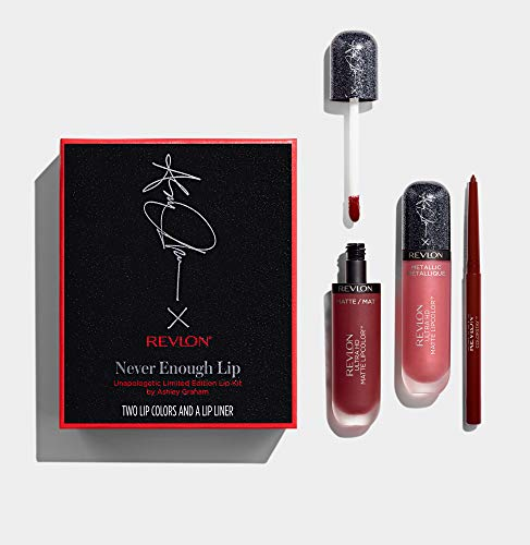 Revlon Never Enough Lip Unapologetic Limited Edition Lip Kit By Ashley Graham