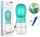 Flybiz Bottiglia per Cani Portatile - Senza BPA, Antibatterico, Portatile, a Prova di perdite, da...