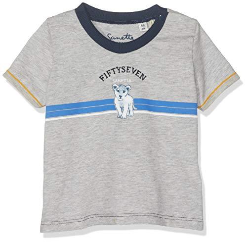 Sanetta Fiftyseven T-Shirt Camiseta, Gris (Stone Mel. 1786),
