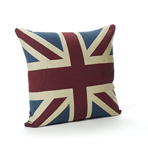 CB Home Vintage Union Jack Cushion Cover (18in x 18in)