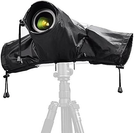 Zecti Professional Rain Cover, Rain-Waterproof Camera Protector Cover for Canon Nikon DSLR Cameras