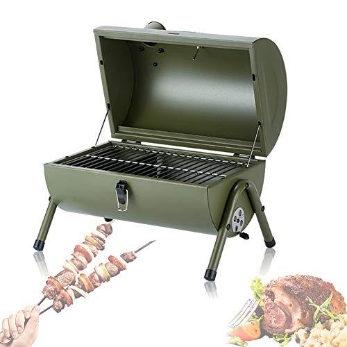 Gebogen Houtskoolbarbecue, Tafelbladgrill Kookplaat, Feest Rond Ontwerp Draagbaar Multifunctioneel Geschikt Voor Kamperen Buiten Tuin Barbecue Kachel