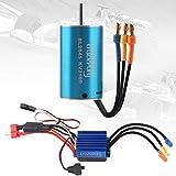 Crazeopony-UK BL2845 3100KV Sensorless Brushless Motor and 35A ESC Electric Speed Controller Waterproof Motor ESC Combo for 1:12 RC Car