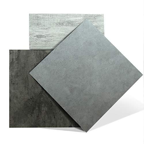 Vinylboden Schälen Und Kleben PVC Bodenbelag Fliese 18 X 18 In Bodenfliesen Selbstklebend Vinylbodenfliesen Dekorative Selbstklebende Folie 10er-Pack (Color : A001)