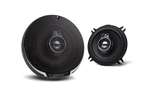 Kenwood KFC-PS1095 100 mm 3-Wege-Lautsprecher (220 Watt) schwarz