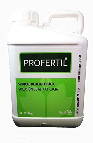 Profertil Abono de Algas Bioestimulante foliar a Base de Algas Marinas puras Fertiberia. 5 litros. Fertilizante foliar de extracto de Algas
