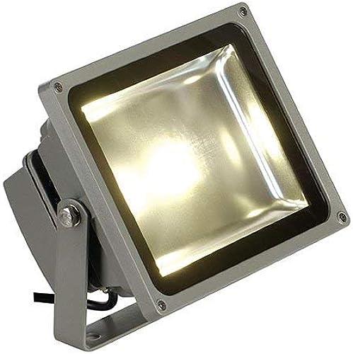 SLV Projecteur LED extérieur 30 W gris-Argent