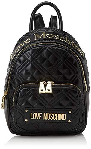 Love Moschino Jc4009pp1a, Borsa a Zainetto Donna, Nero (Nero), 10x21x26 cm (W x H x L)