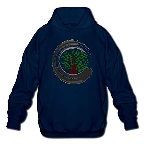 SASJOD Sudaderas con Capucha Bonsai Tree Zen Men