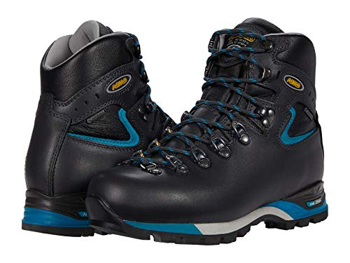 Asolo Women's PW.Matic 200 EVO GV Backpacking Boot Graphite/Blue 6.5