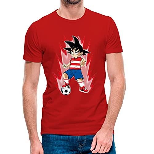 Camiseta Goku Granada CF 2021-2022 (L) (Rojo)