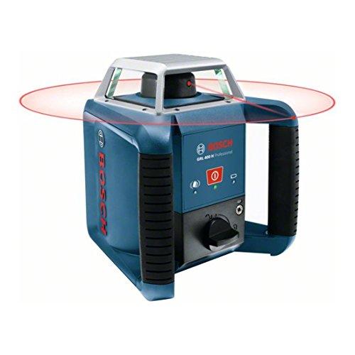 Bosch Professional Rotationslaser GRL 400 H (Ein-Knopf-Bedienfeld, max. Arbeitsbereich: 400 m, in Handwerkerkoffer) - 5
