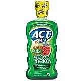 ACT Kids Anticavity Fluoride Rinse, Wild Watermelon 16.90 oz ( Pack of 3)