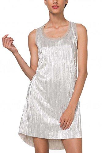 Desigual Vest_Maribel Vestido, Dorado (Dorado 8010), XX-Large para Mujer