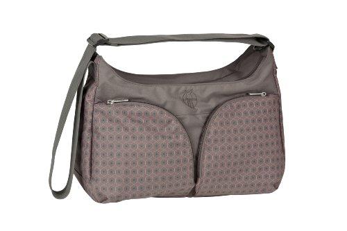 Lässig Basic Shoulder Bag Wickeltasche/Babytasche inkl. Wickelzubehör, Comb slate