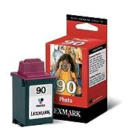 Lexmark OEMインクジェットのインクx63–1–# 90SDフォトカラーインク(12a1990) -