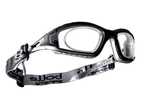 Schutzbrille Bollé Tracker II mit optischen Einsatz für Brillenträger - von jedem Optiker individuell verglasbar