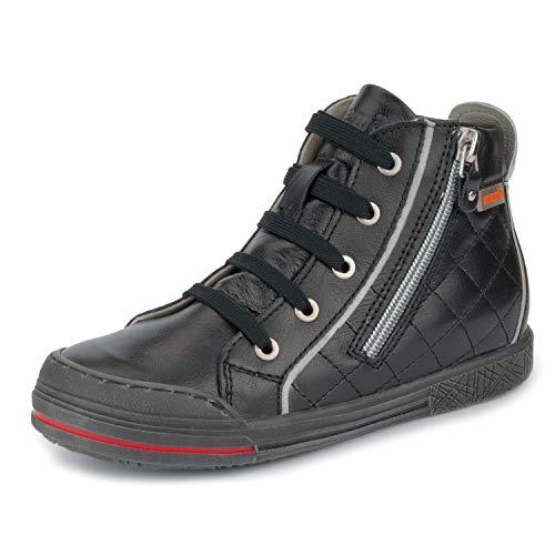 Memo New York AFO Corrective Orthopedic Tennis Shoes, Black, 33 (2.5 M US Big Kid)