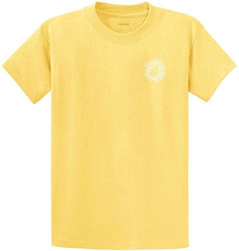 Koloa Surf.-2 Side Honu Hawaiian Turtle T-Shirt-Yellow/w-M