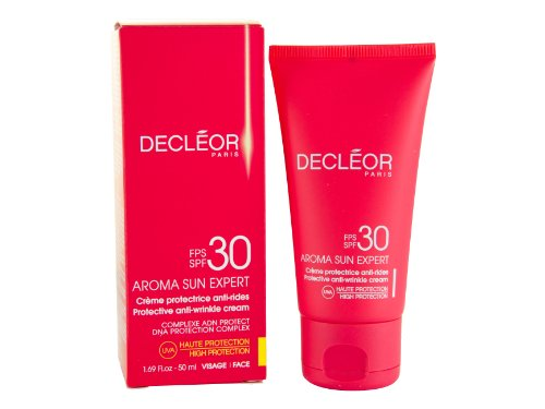 Decleor Aroma Sun Expert Protective Anti-Falten Creme 50 ml LSF30 Hoher Schutz, 1er Pack (1 x 50 ml)