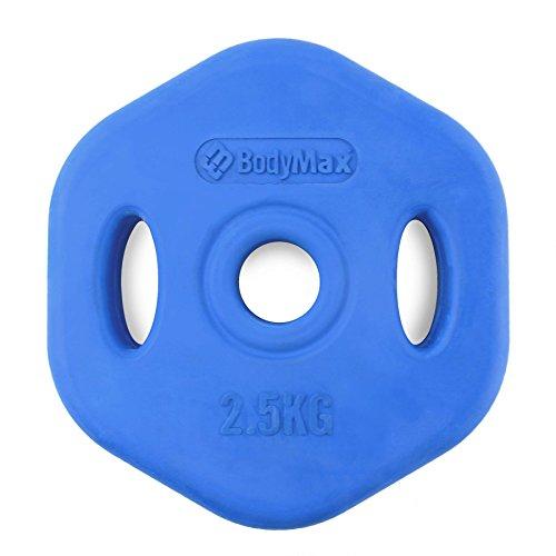 Bodymax 2.5Kg Blue Rubber Studio Disc (single)