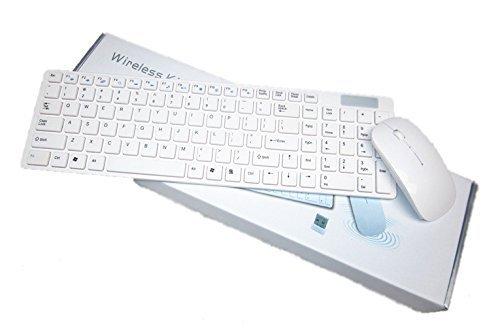 Widiq Wireless Keyboard Mouse K688 With Wireless Mouse Combo - White
