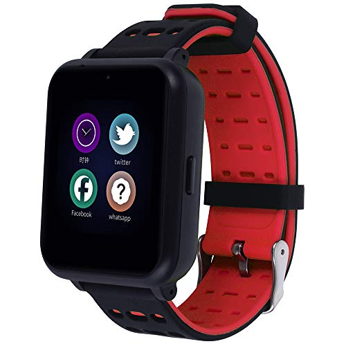 TTCXDP Smartwatch voor kinderen, fitnesstracker, muziekspeler voor jongens en meisjes, smartwatch met MP3-speler, 1 GB micro-SD-kaart inbegrepen, verjaardagscadeau voor kinderen