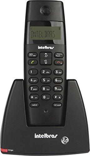 Telefone sem Fio Digital, Intelbras TS 40 ID, Preto