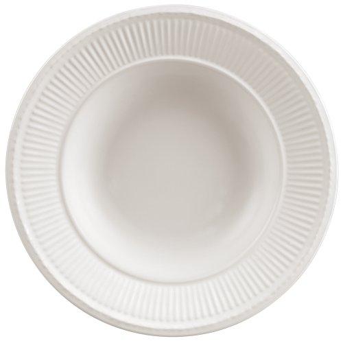 ウェッジウッドエドムホワイトスープ皿幅23cm