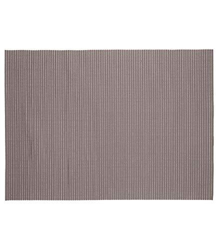 JJA Five badmat, schuimstof, taupe, 65 x 90 cm