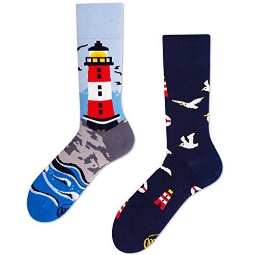 Many Mornings unisex Socken Nordic Lighthouse (39-42)
