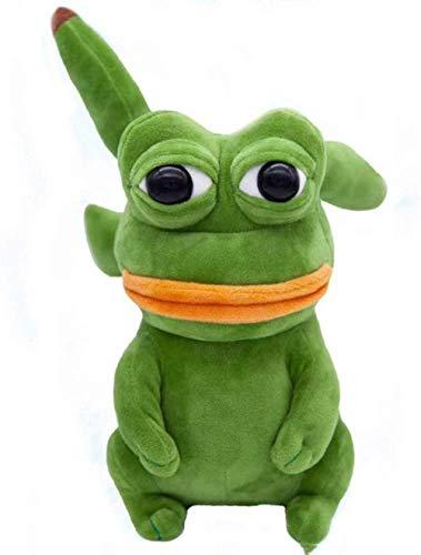N/D Pepe Frog Jenny Frog The Frog Sand Frog Animal Stuffed Plush Doll Elf Toys for Children 23Cm
