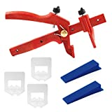 Kit de base Lantelme 6041 de nivellement de carrelage pour joints 2mm et...