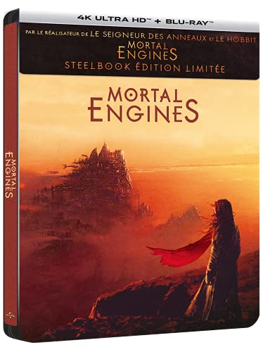 Mortal Engines [4K Ultra HD + Blu-Ray-SteelBook édition limitée]
