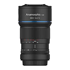 The very first affordable anamorphous lens for everyone for widescreen movies in cinema format 2.4:1 33% wider field of view than conventional 50mm lenses corresponds to a field of view of 37.5 mm Creates cinematic effects such as horizontal sci-fi r...
