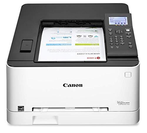 Canon Color Image CLASS LBP622Cdw -Wireless, Mobile Ready, Duplex Laser Printer, Compact Size - White