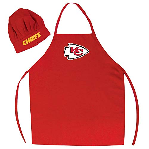 Chef hat and apron set