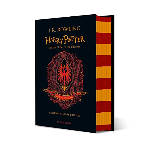 Harry Potter And The Order Of The Phoenix - Gryffindor Edition: J.K. Rowling (Gryffindor Edition - Red)