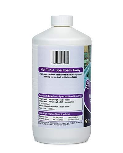 LeisureChem - Vasca idromassaggio e schiuma spa, 1 l