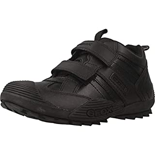 Geox J Savage Boy's Low-Top Trainers, Black (Black 9999), 2.5 UK (35 EU) (B0053O136S) | Amazon price tracker / tracking, Amazon price history charts, Amazon price watches, Amazon price drop alerts