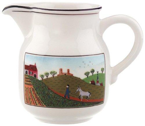 Villeroy & Boch Design Naif Milchkännchen, Premium Porzellan, Mehrfarbig