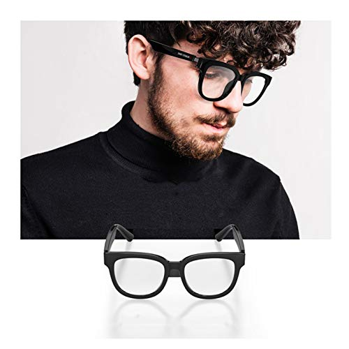 LOCGFF Occhiali Intelligenti A Conduzione Ossea, Occhiali Bluetooth Intelligenti, Bluetooth 5.0, Design Impermeabile, in Grado di Rispondere alle Chiamate, Ascoltare Musica, Ricarica Magnetica