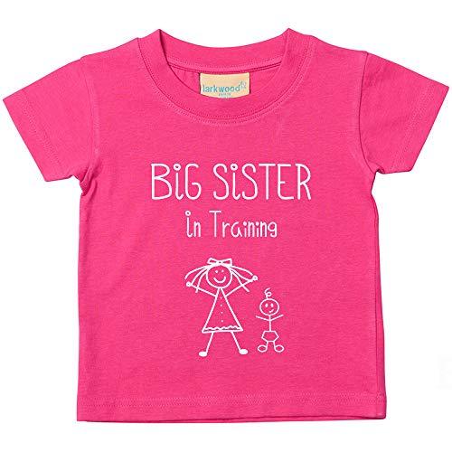 60 segundos Makeover Limited Big Sister in Training Camiseta Rosa Bebé Niño Niños Disponible en Tamaños 0-6 Meses a 14-15 Años Nuevo Bebé Hermana Regalo