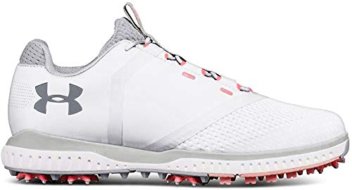 Under Armour UA W Fade RST, Chaussures de Golf Femme, Blanc (White 100), 38 EU