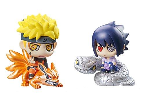 Naruto – Set de 2 Figurines, 6 cm (MegaHouse mghna818684)