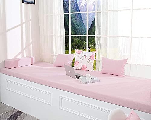 Cojín de banco extra largo personalizado para sofá grande, espuma viscoelástica, cojín de asiento trasero para interior y exterior, jardín, columpio de 2/3/4 plazas