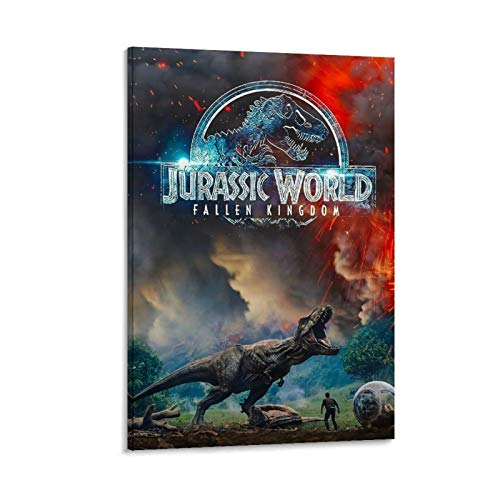 DRAGON VINES Jurassic Park 2 dinosaurios historia arte póster impresión decoración pintura 40 x 60 cm